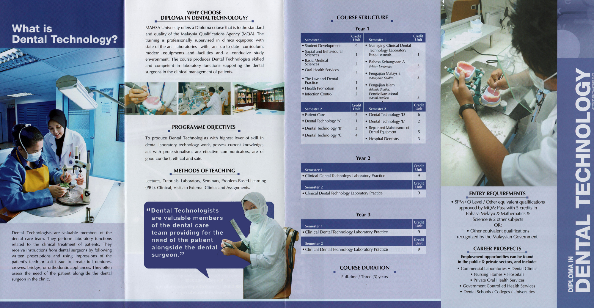 Diploma-in-Dental Technology